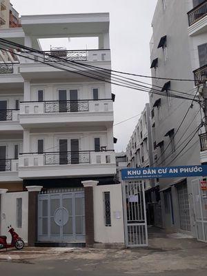 Nhà xây mới sổ hồng khu dân cư đông đúc P16 Q8