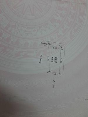Cần bán đất nền Lai Xá, 62,5m2 43tr/m2