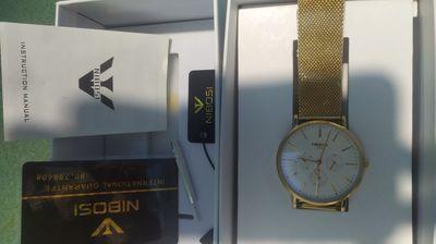 Đồng hồ Nibosi hãng hiệu full box,full kim giámềm