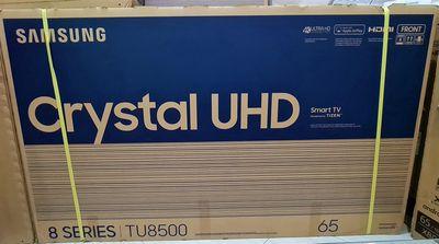 TV 4K Samsung 65TU8500 65in MODEL 2021 BH 11/2022
