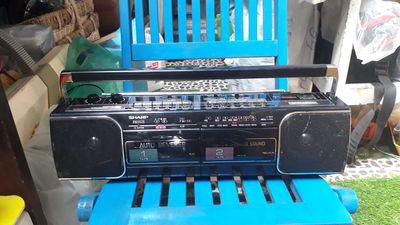 Đài radio cassette SHARP QT-Y1ba