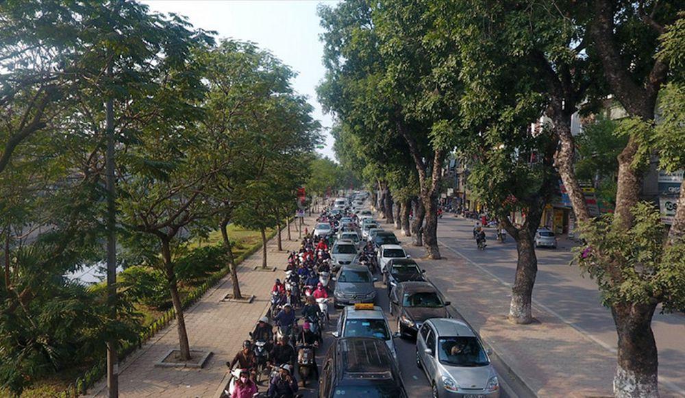 Cho thuê nhà mp Nguyễn Văn Lộc 100m2x4 tầng, mt 5m