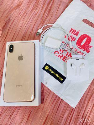 iphone XS Max vàng 64g zin đẹp còn BH TGDĐ 11/2020