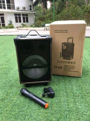 Loa Kéo Karaoke Bluetooth  Q8 Vân Gỗ