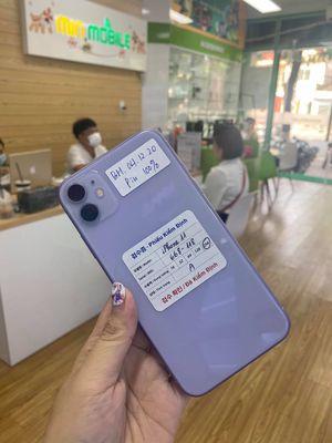 iPhone 11 màu tím bản 256Gb ( pin 100% )