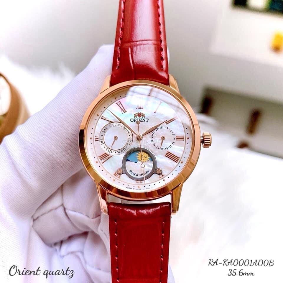 0898363230 - Đồng hồ ORIENT SUN & MOON Nữ
