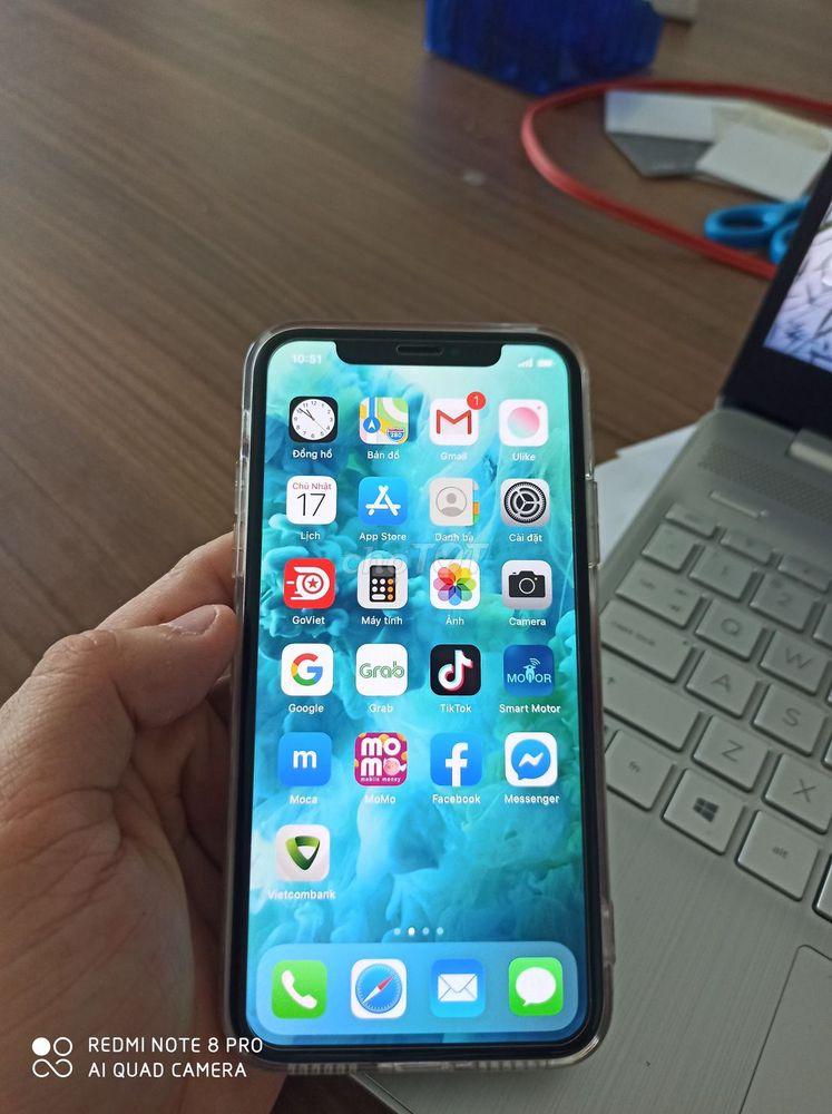 iPhone X 64 GB Bạc Zin áp suất còn bảo hành