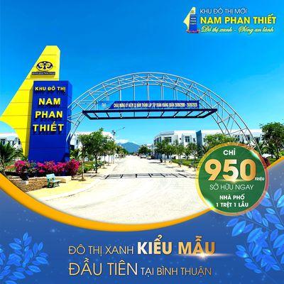 Nhà phố thương mại Nam Phan Thiết