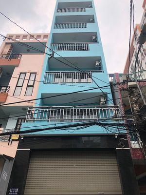 Nhà 1 trệt 5 lầu , HXH , đường D1 ,Bình Thạnh