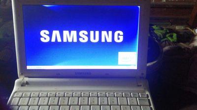 Laptop mini 10 in samsung atom n450