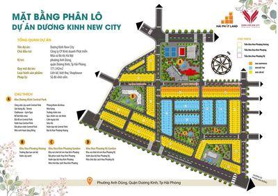Đất vàng trung tâm hành chính quận Dương Kinh