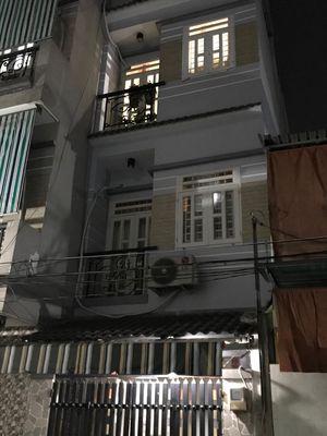 Nhà đẹp 1 trệt 2 lầu sân thượng 27m2 HL2 Bình Tân