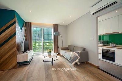 Bán căn 1 phòng ngủ full nội thất thiết kế đẹp