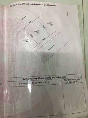 Đất mặt tiền Thành phố Châu Đốc 300m²
