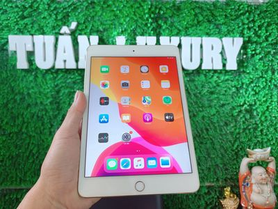 iPad Mini 4 32G Gold Wifi like new mới 99% BH 6T