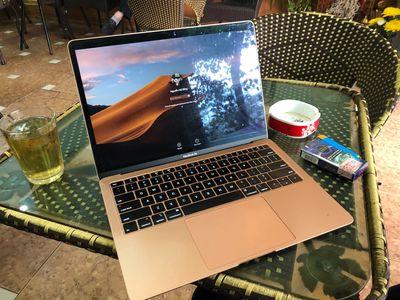 Apple Macbook Air 2018 vàng hồng fullbox