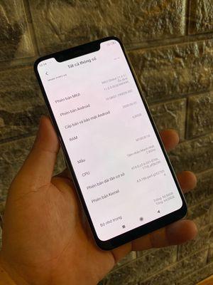 Xiaomi Mi 8 2 sim 6/64GB trắng Snap845 zin all 99%