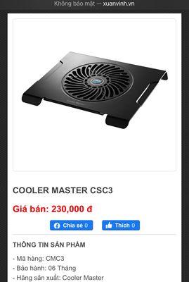 Đế tản nhiệt cooler master CMC3