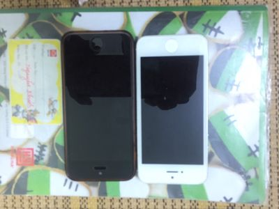 iPhone 5 Trắng hoặc 5s bạc 16gb