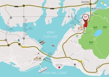 Đất nền chân cầu cửa lục 3, Hạ Long.