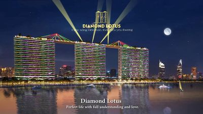 Bán căn hộ Diamond Lotus Riverside 1PN  50m Q8