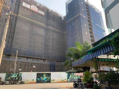 Căn hộ sân vườn Q9 Ricca 56m² 2 PN sắp nhận nhà