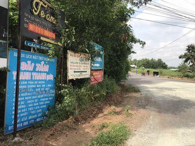 Bán đất mặt đường nhựa ngã 3 Gò Cà,Phước Thuận