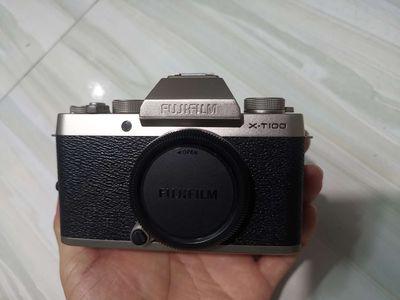 Máy ảnh Fujifilm X T100 gold body