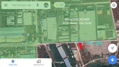 ĐẤT SẠCH 583M2 KCN MINH HƯNG HÀN QUỐC-BÌNH PHƯỚC