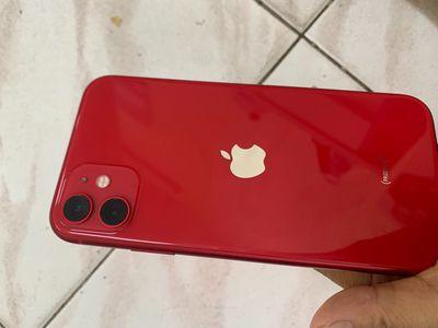 Iphone 11 qte đỏ 128 gb còn bảo hành apple bán gâp