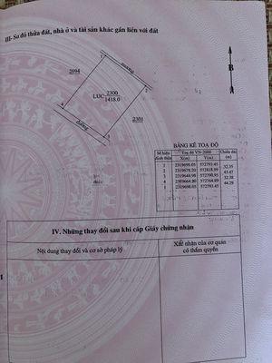 Lô đất sổ hồng chính chủ 1418m2 huyện Quốc Oai HN
