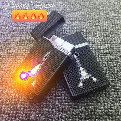Bật Lửa khò có đèn led chớp nháy