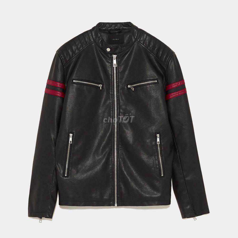 Áo da Zara nam chính hãng