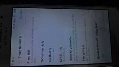 Samsung Galaxy J2 Prime Bạc full chức năng