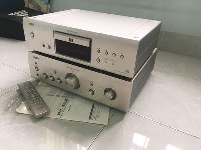 Amply cd Denon 1500ae đẹp lung linh zin nguyên bản