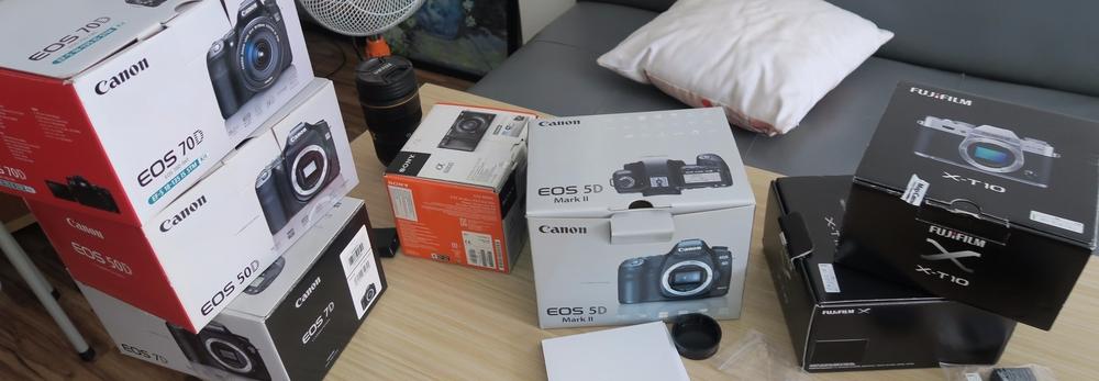 Cửa hàng máy ảnh xách tay nhật
