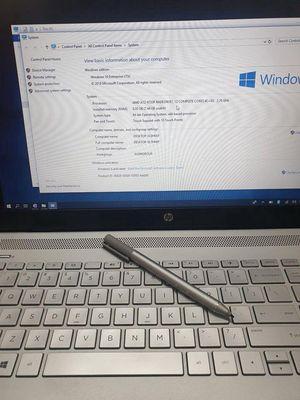 Laptop HP Pavillion  15- cảm ứng chính hãng!!