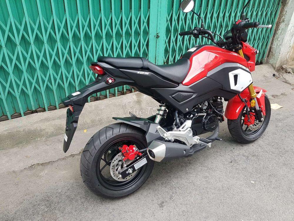 Msx 125 mới 100% màu đỏ 2019 sản xuất Thái Lan