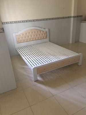 giường sắt đẹp , giường hộp cao cấp 5x10