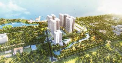 Saigon Riverside Complex Q7 67m² 2PN - 2,25 tỷ