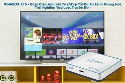Android box TV - hỗ trợ giọng nói - Vinabox A15