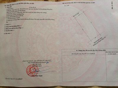Cần tiền bán lô đất 112m2 lô 3B Lê Hồng Phong, HP