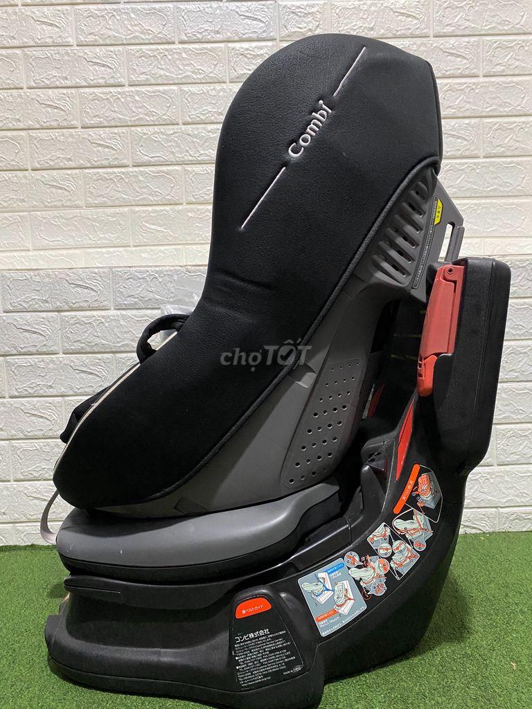 0901373465 - Ghế ô tô xoay 360 Vip Combi luxtia như mới