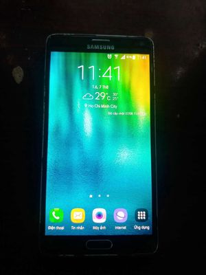 Samsung Galaxy Note 4 Đen bóng - Jet black 32 GB