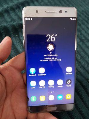 Bán Samsung Note 7 bản hàn 4g/64 màn chữa cháy=1t7