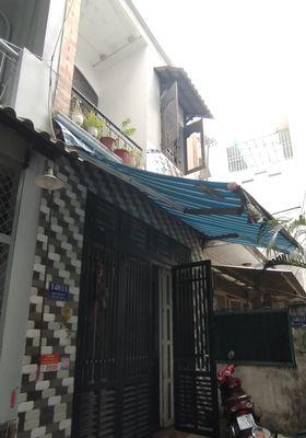 Nhà nhỏ quận Tân Phú 32m2, hẽm nhỏ, an ninh.