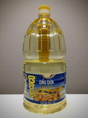 Dầu Dừa Nguyên Chất COCOVIET Chai 2 Lít