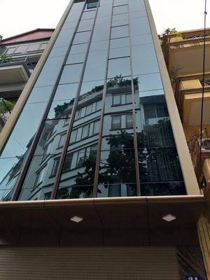 Bán tòa nhà 7 tầng VPTrung Yên 90 m2 thang máy đẹp