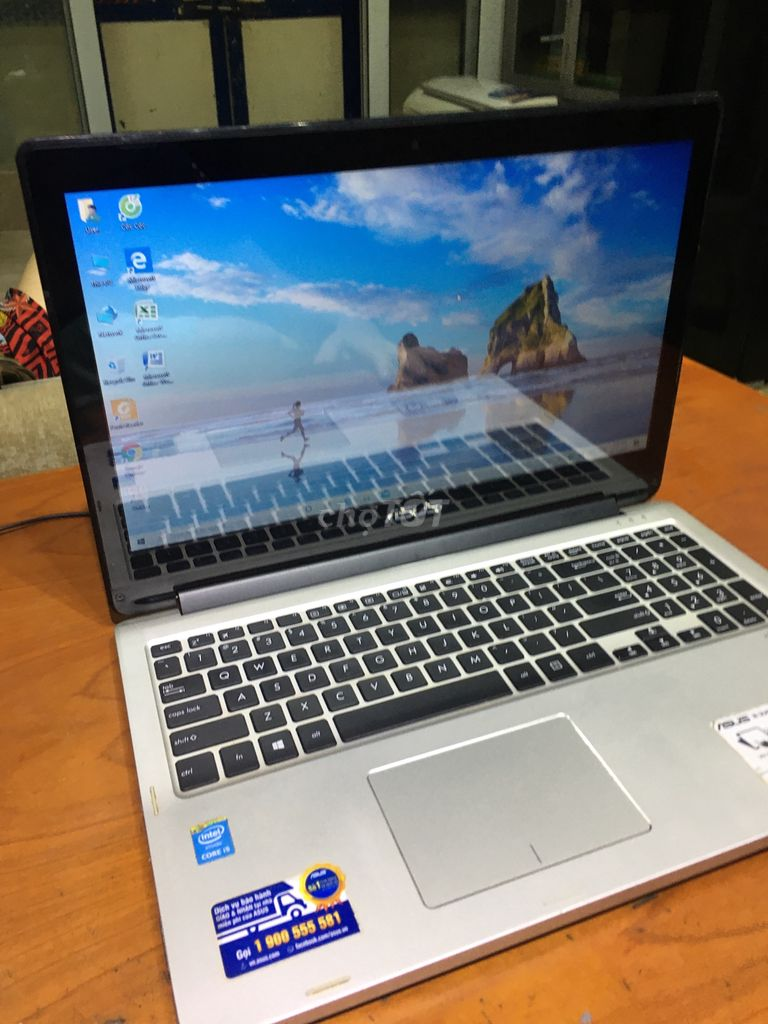 Máy Laptop Core i5 4 GB Ssd500 GB AMD 2G Vga 4K