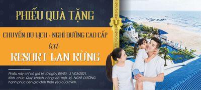Tặng chuyến du lịch nghỉ dưỡng tại biển Long Hải